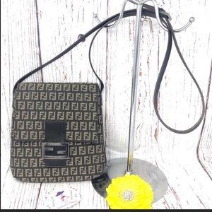 Fendi FF Monogram Crossbody Bag
